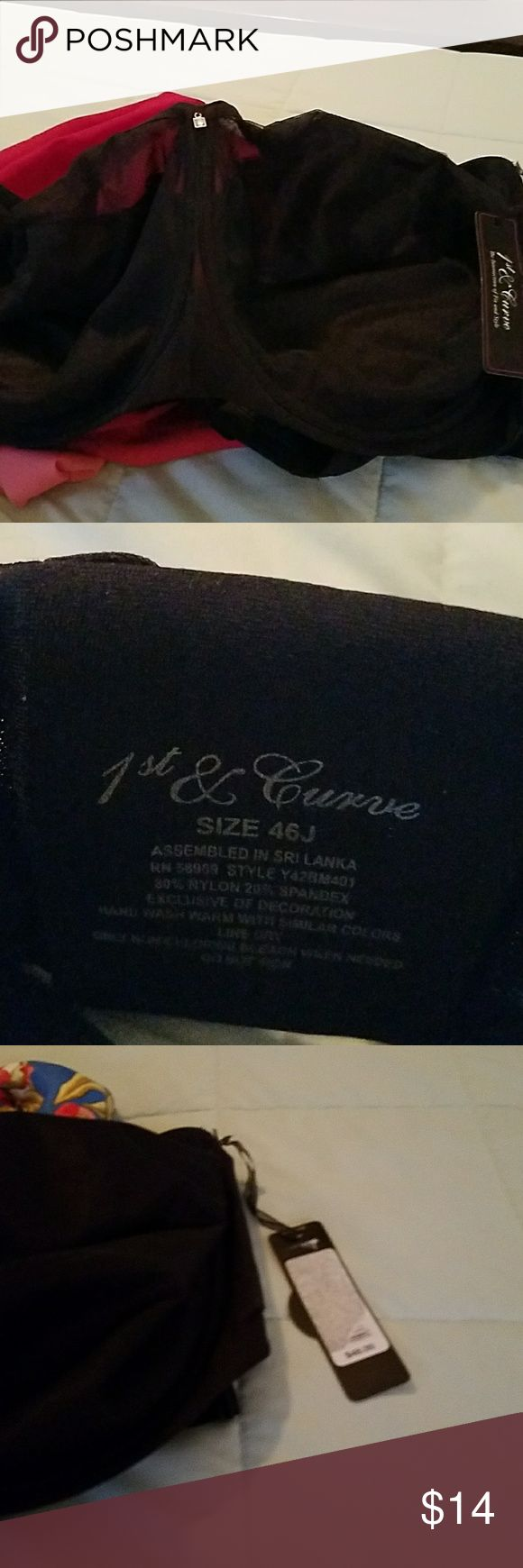 1st & Curve Bra with Tag Brand New 1st & Curve Bra with Tag Bought at Dillards 1st And Curvy Intimates & Sleepwear Bras
