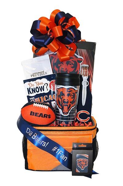 Chicago Bears Gift Basket - 99.50 + 10.95 shipping