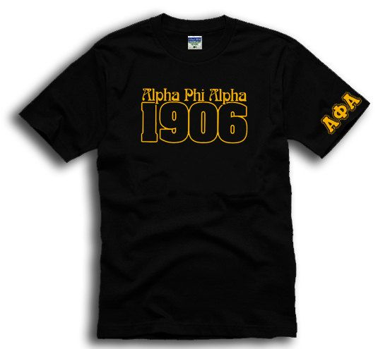 Alpha Phi Alpha Fraternity Greek T-shirt by MVdesigngroup on Etsy