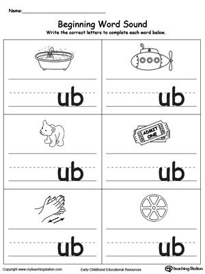 Letter Words Starting With Ub