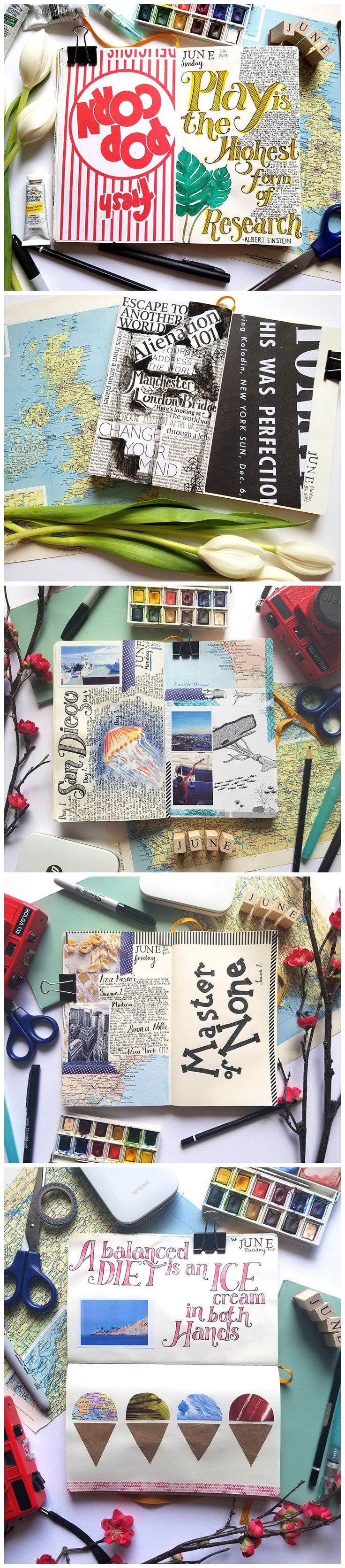 811 best libretas de viaje images on pinterest journal ideas