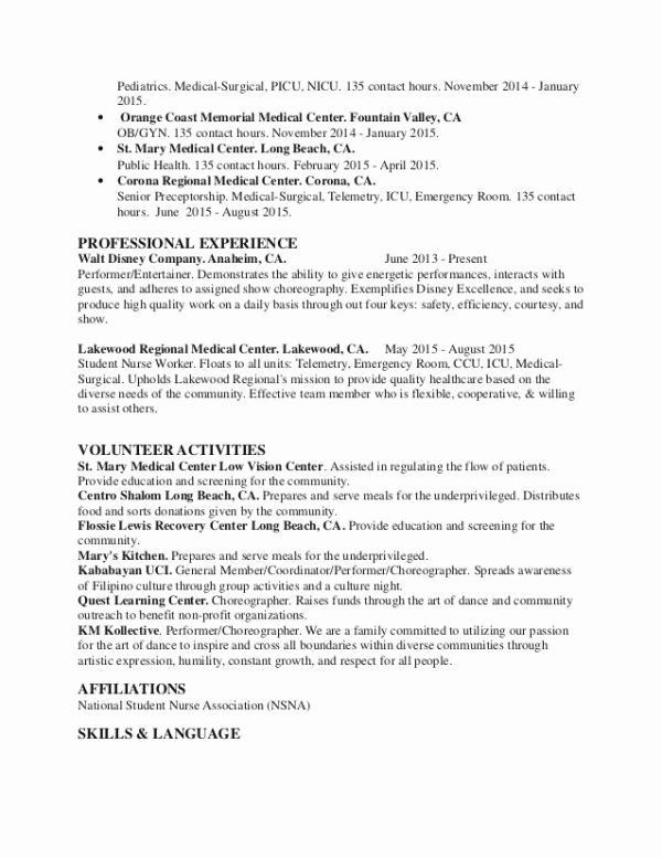 Medical Resume Template Free Beautiful Public Health Resume Download Free New Awesome Elegant Good Nursing