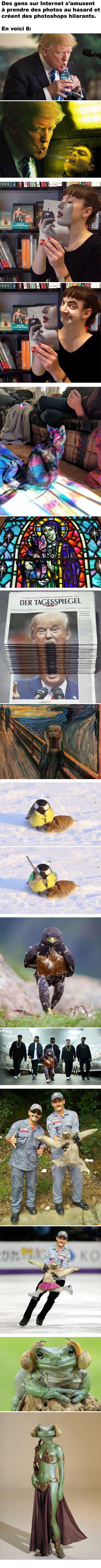 8 Photoshops hilarants trouvés sur Internet
