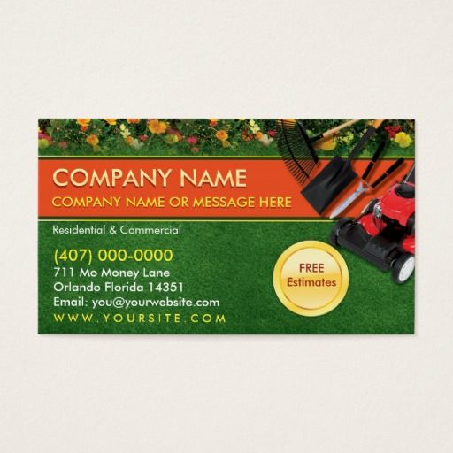 135 best images about landscaping business cards on for Garden maintenance business
