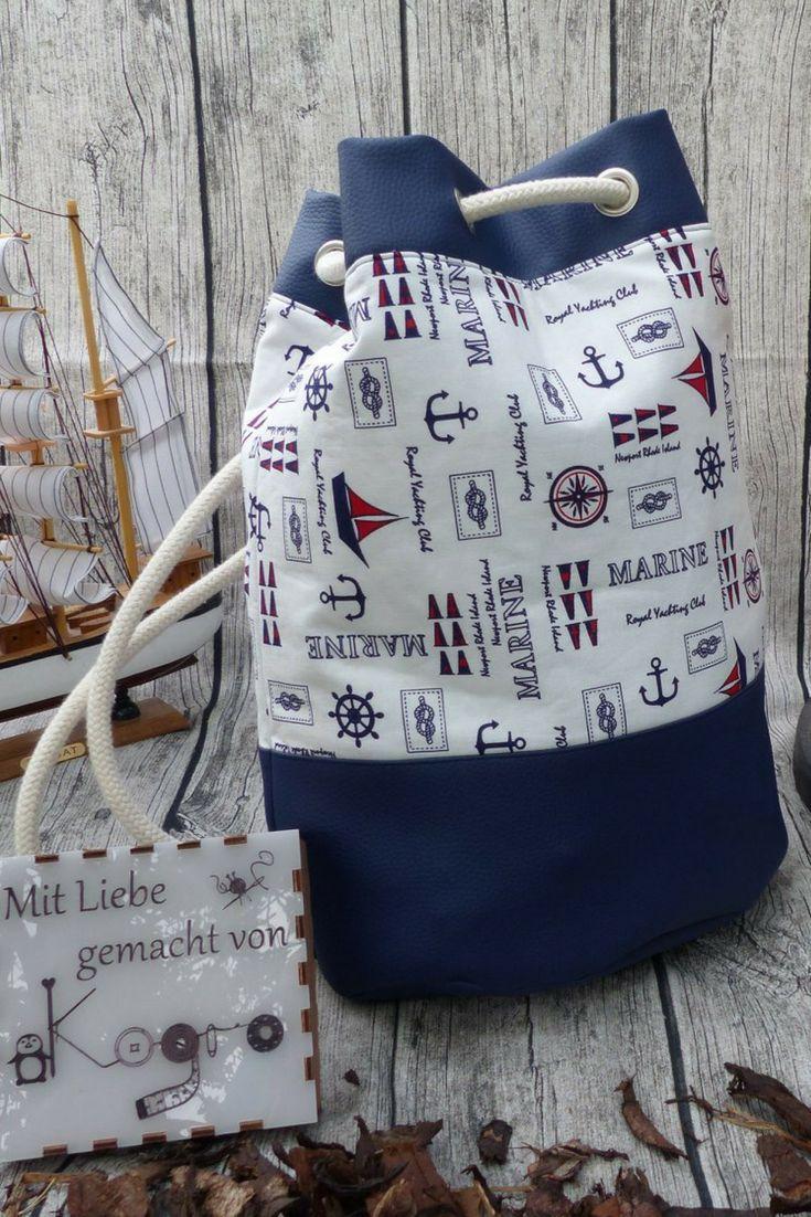 Schnittmuster Tasche Bag Seesack │ Rucksack Othe…