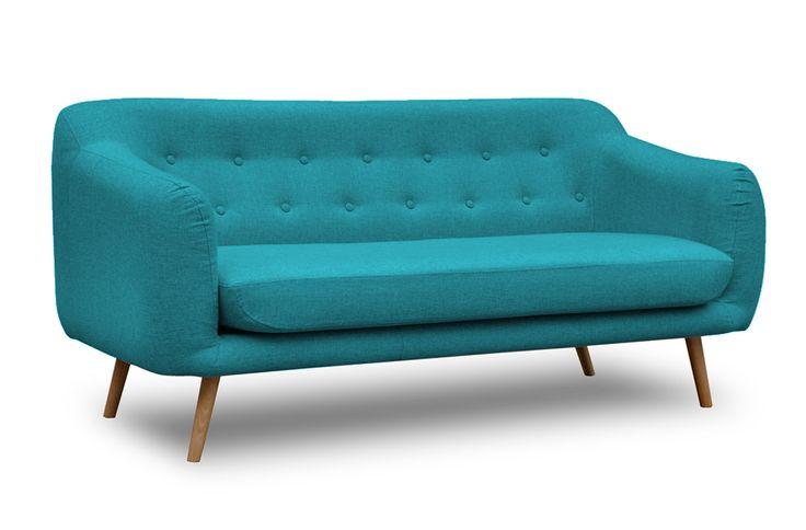 Skandynawska sofa Lappi turkusowa | DESIGNERSKI