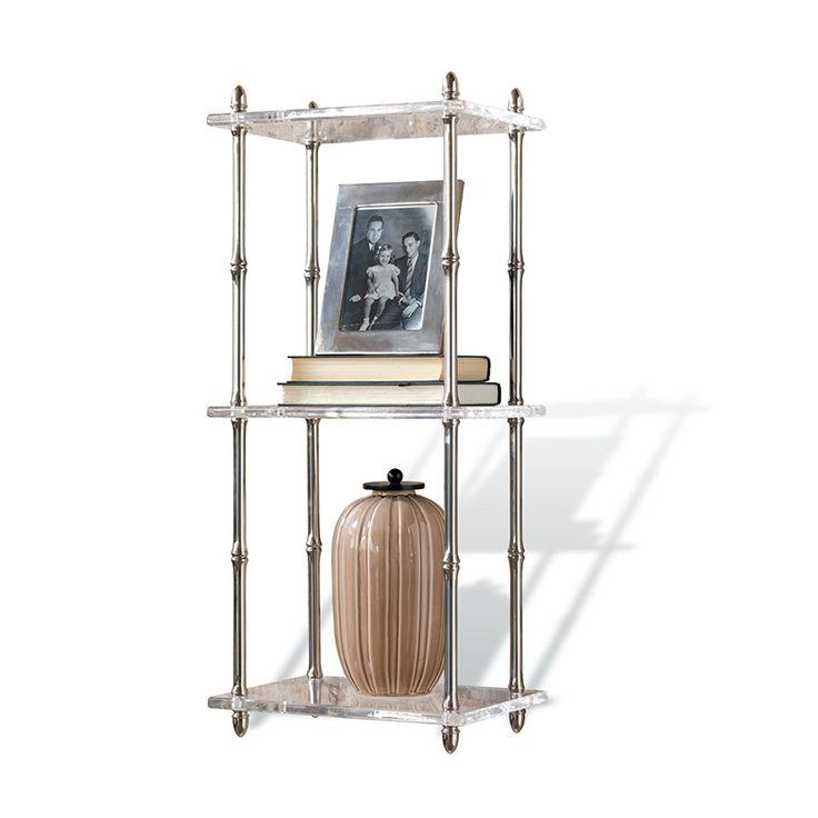 Carmel Lucite Shelf Unique Home Decoraccessories Onlinehome Furnishings