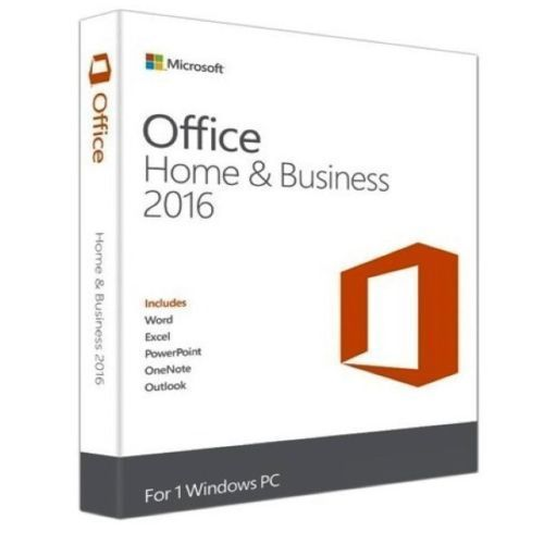 Windows Office 2016 Home and Business Vollversion 32/64 Bit