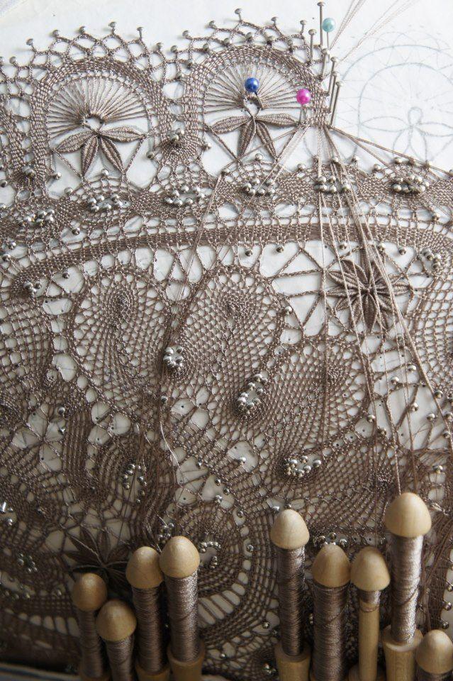Russian #lace dentelle aux fuseaux
