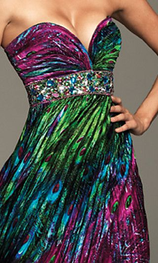 peacock: Fashion Clothing, Peacock Peacock, Bridesmaid Dresses, Gowns, Peacock Inspiration, Prom Dresses, The Dresses, Peacock Colors, Peacock Dresses