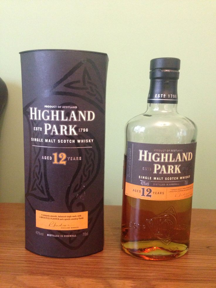 Highland Park - Aged 12 Years - Single Malt