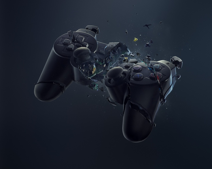 ouchInspiration, Khuong Nguyen, Videos Games, Art, Graphics Design, Wallpapers, Playstation, Ps3 Control, Digital Photography
