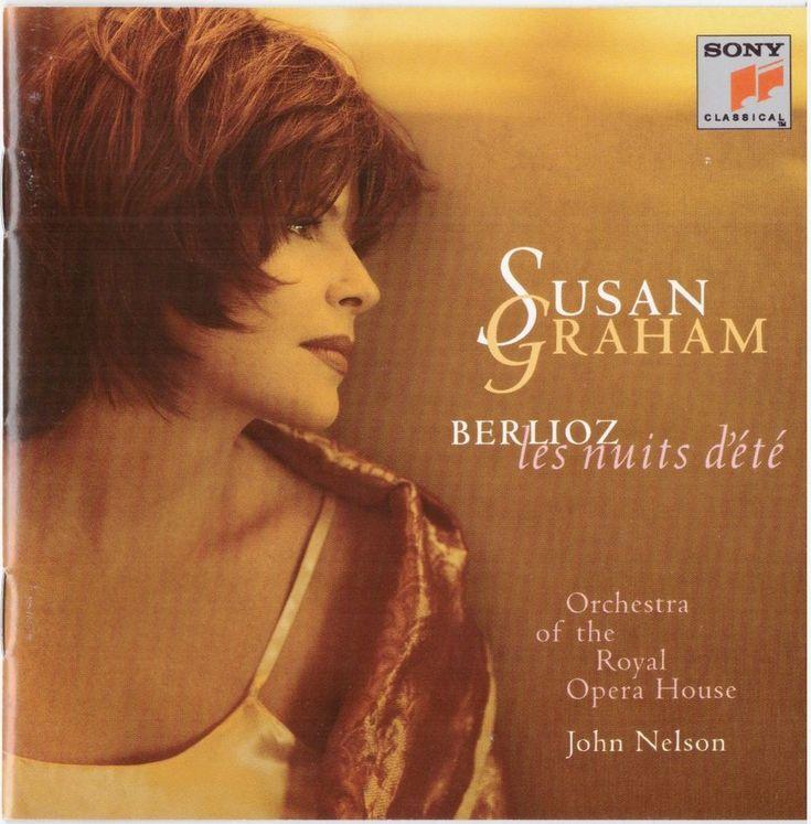 Susan Graham - Berlioz: Les Nuits d'Été CD + Five Additional Arias RARE CD
