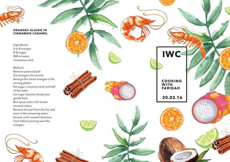 Recipe 'Leaflet' Design on Behance