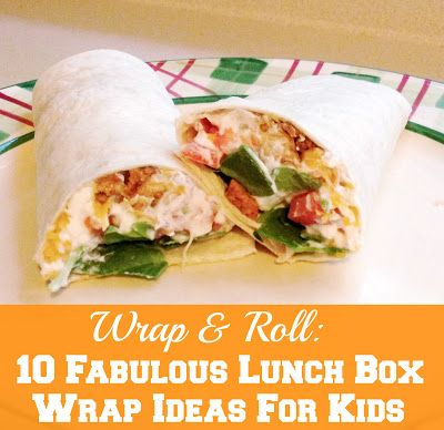 Wrap & Roll: 10 Fabulous Lunch Box Wraps For Kids | Confessions of a Semi-Domesticated Mama