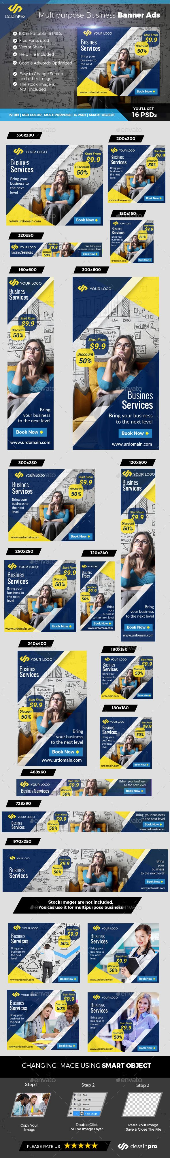 Business Banner Ads - Banners & Ads Web Elements Download here : https://graphicriver.net/item/business-banner-ads/19367859?s_rank=110&ref=Al-fatih