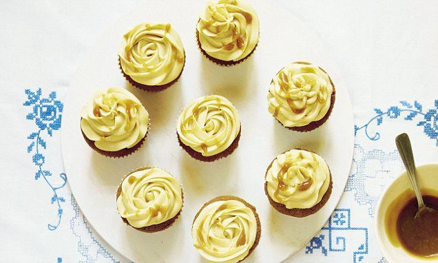 Mary Berry Everyday: Toffee cupcakes