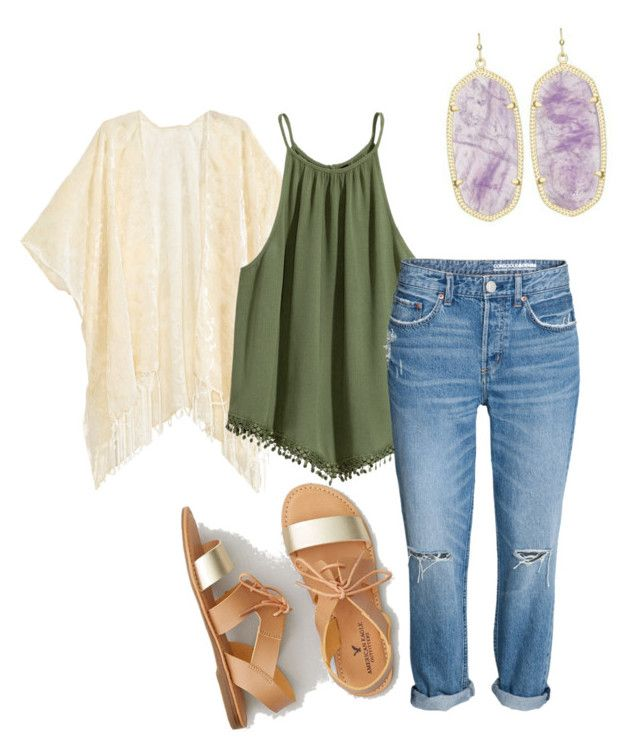 """hm +aeo&kendra"" by tgirl021301 on Polyvore featuring American Eagle Outfitters"