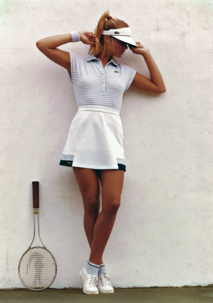 From The Lacoste S A Archives C All Rights Tennis Skirts Golf Outfit Womens Golf Fashion