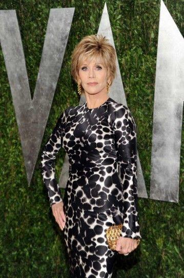 jane fonda hairstyle 2013 | Jane Fonda con capelli corti