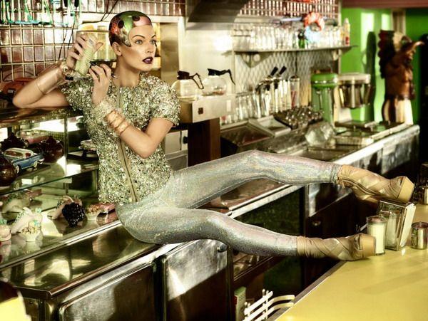 Milla JovovichDinner, Bazaars Singapore, Money, Android, Simon Upton, Harpers Bazaars, Milla Jovovich, Fashion Photography, Blog