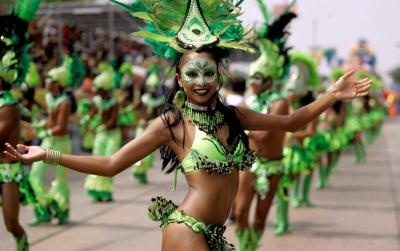 Barranquilla Carnaval in Colombia is one of the best