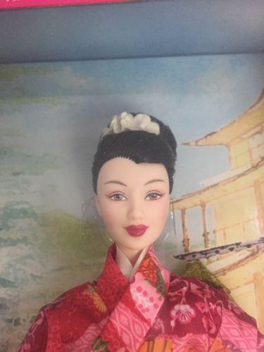 Mattel-Barbie-Muneca-Edicion-Coleccionista-Munecas-Del-Mundo-Princesa-De-Japon