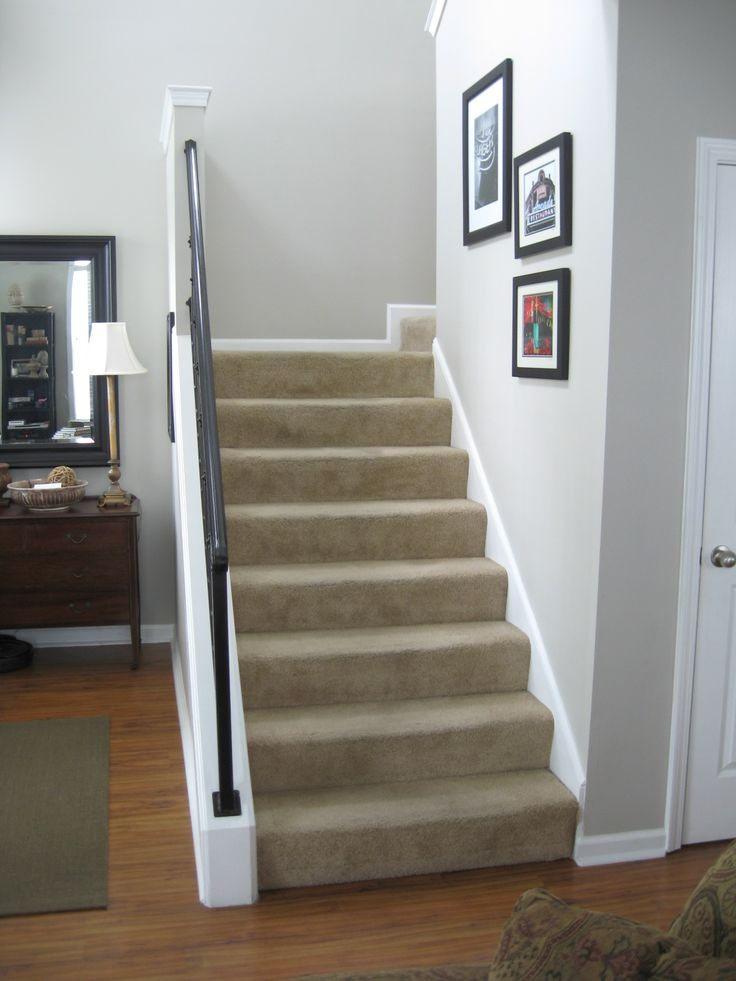Carpeted Stairs