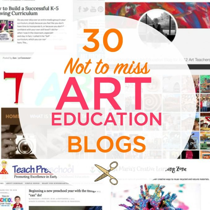 30 of the best Art Education Blogs