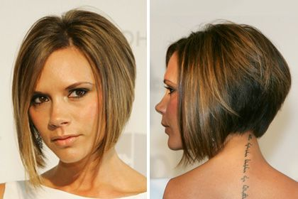 Victoria Beckham's Angled Bob Haircut. Never goes out of style.