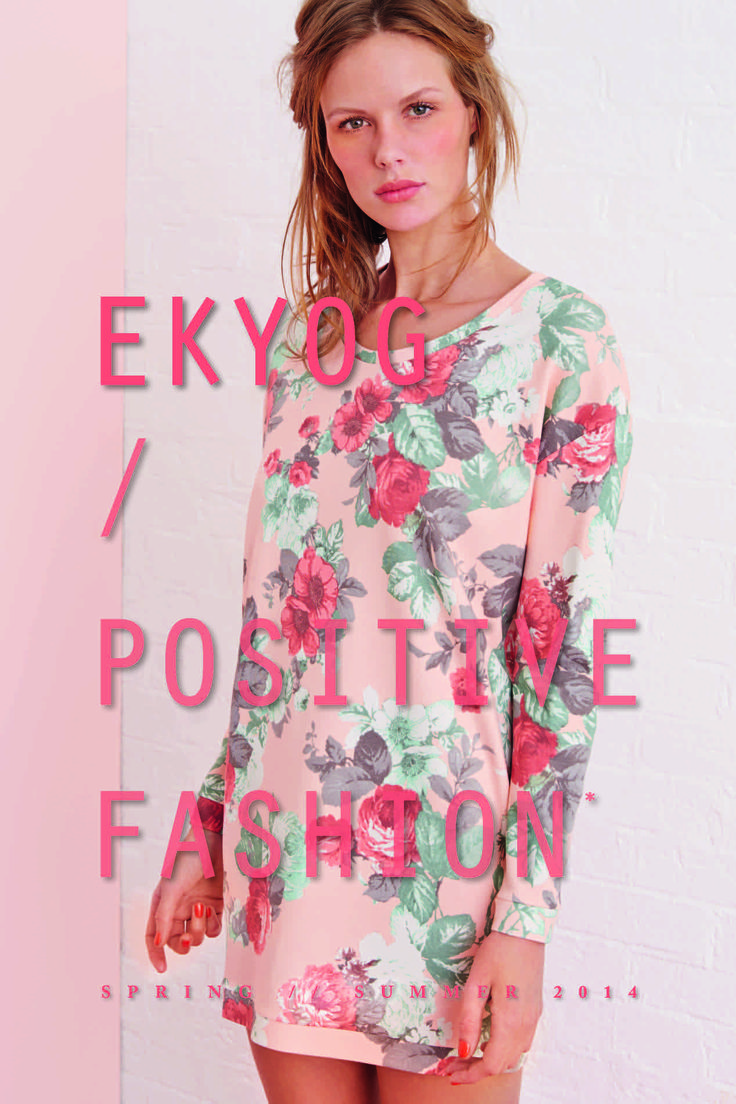 Page 1 - Look Book PE14 EKYOG #modepositive #green #spring #summer #collection2014