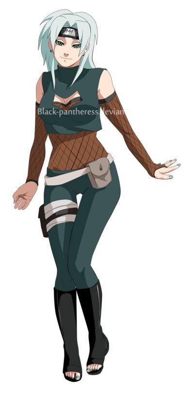 Naruto OC:Hana by Black-pantheress.deviantart.com on @deviantART