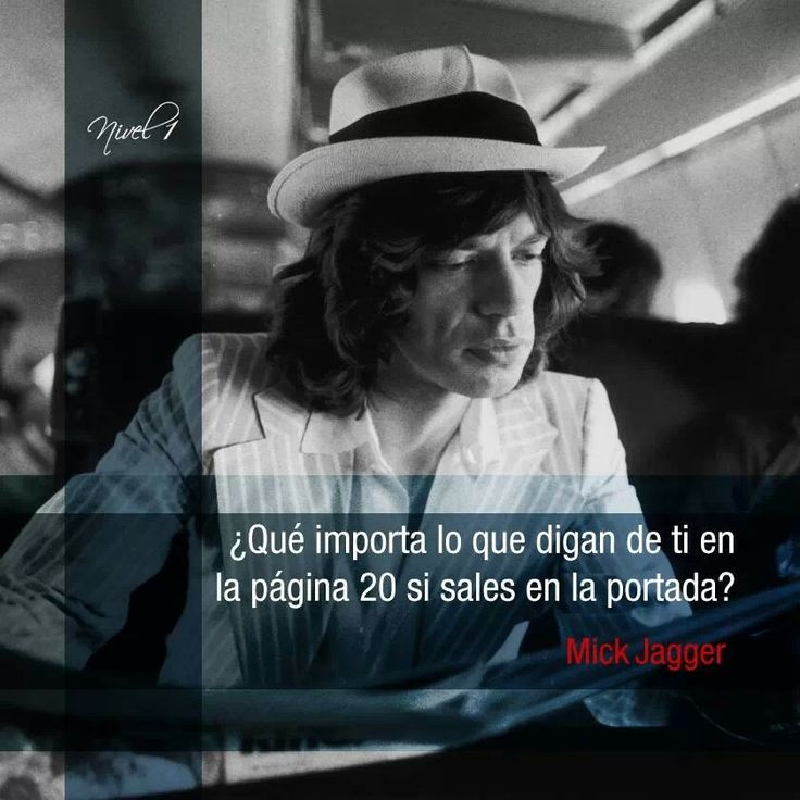 Mick Jagger 70 años #frases #citas #quotes# efemérides @Nivel1Comunica