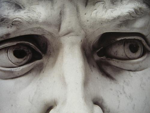 Michelangelo Buonarroti  David detail