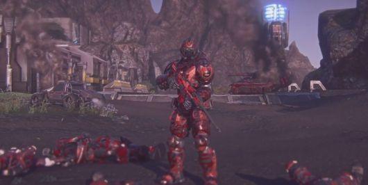 PlanetSide 2 launches an E3 PS4 trailer