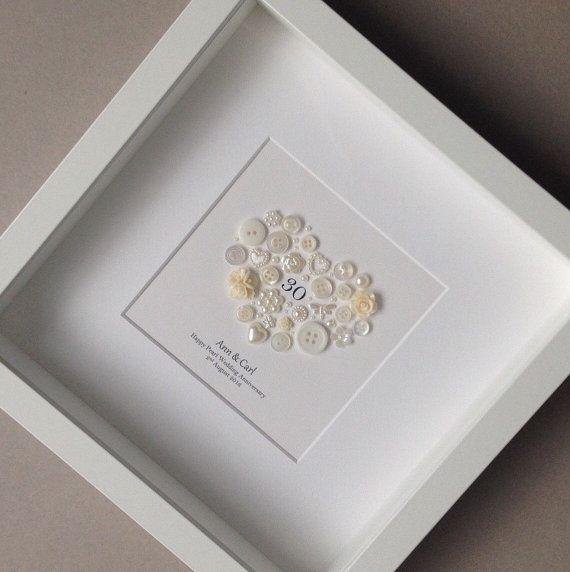 Anniversario di nozze della perla, 30 ° anniversario, matrimonio 30, perla anniversario, regalo di pensionamento, insegnante regalo, regalo per le coppie, celebrazioni