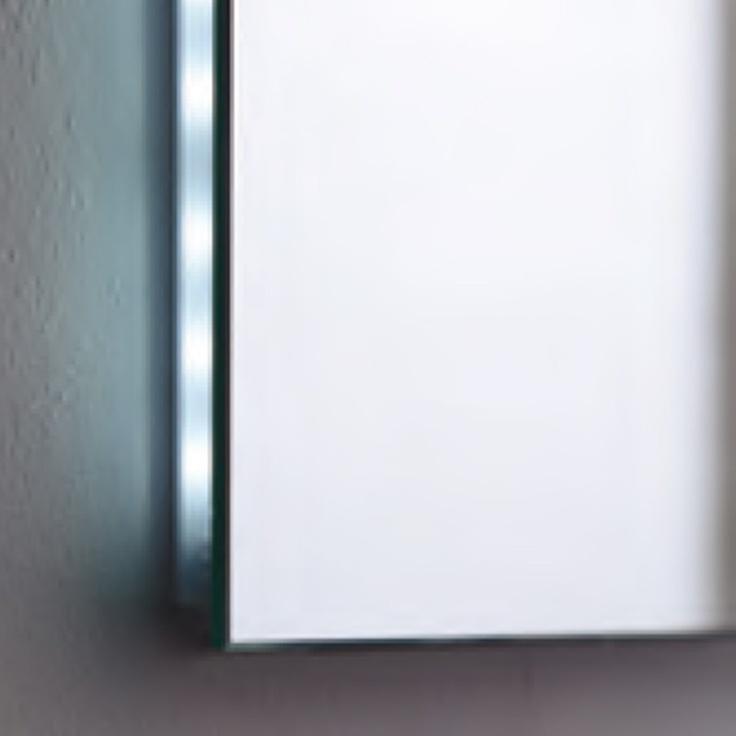 novedosos espejos de bao con luz led lateral