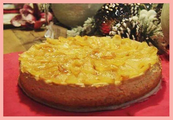 Jablkovo-skoricovy Cheesecake
