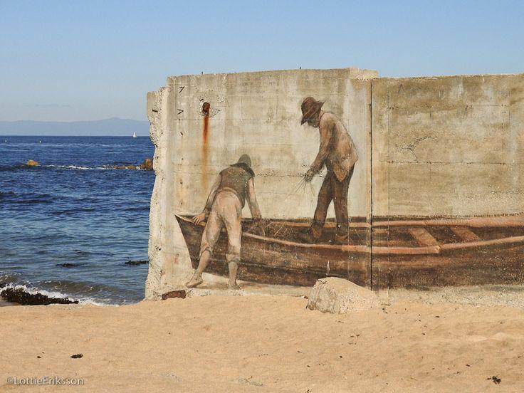 Stranden vid Cannery Row