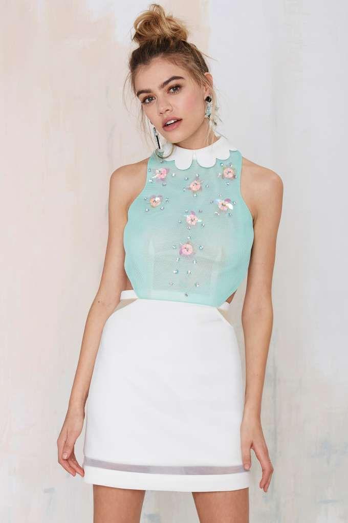 Three Floor Shine Bright Paillette Dress
