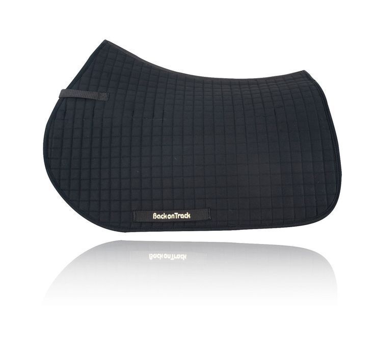 Saddle Pads 183377: Back On Track Equine All Purpose Saddle Pad Double Pack Black,White Or Brown BUY IT NOW ONLY: $103.5