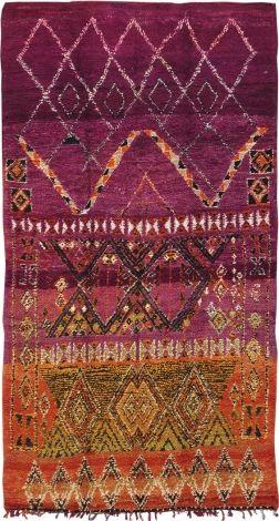 Vintage Moroccan Rug High Atlas Collection-Tribal