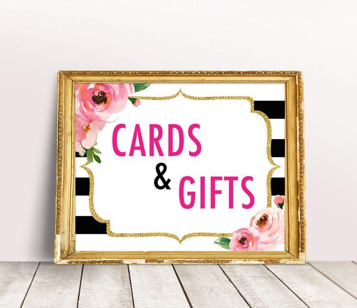 Kate Spade Wedding Gift Ideas : bridal shower signs kate spade bridal shower theme bridal showers kate ...