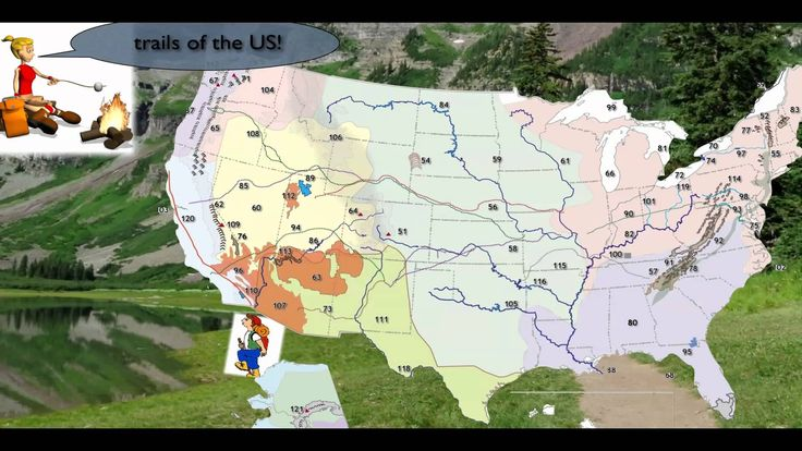 Cycle 3, Weeks 11-24, Geography - USA topographical features (mountaints, lakes, rivers, bays, etc.)