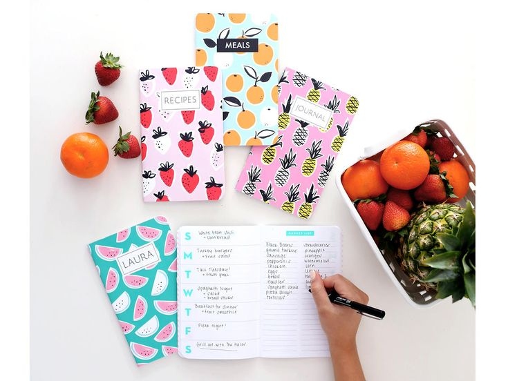 May Designs Meal Planner Notebook | Imagine your number one cook enjoying artisanal foods, crafting a fantastic cocktail, or mastering a new menu with stunning, state-of-the-art equipment from you. We compiled a list of the ultimate food-focusedgifts that are perfect for any cook on your list. From splurge prices to smaller presents, there's something for everyone.