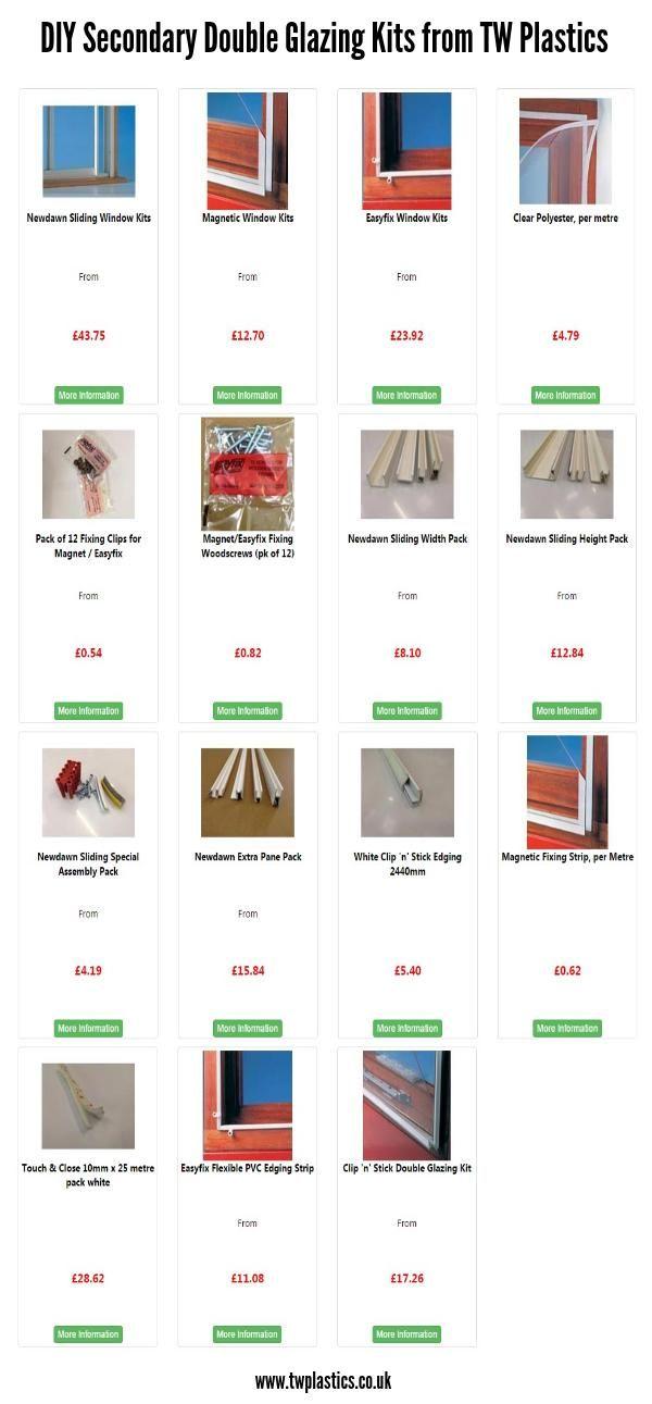 8 best diy secondary double glazing kits images on pinterest diy secondaryglazing doubleglazing kits httptwplastics solutioingenieria Gallery