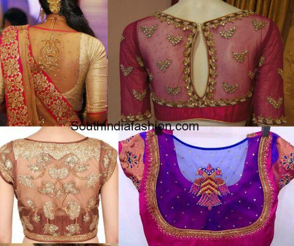 Sheer-blouses-for-kanjeevarams-1.jpg 600×501 pixels