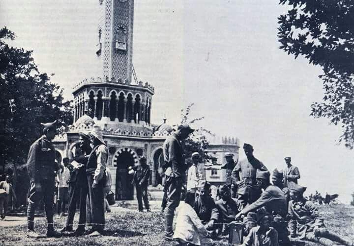 İZMİR,DE YUNAN ASKERLERİ-1920