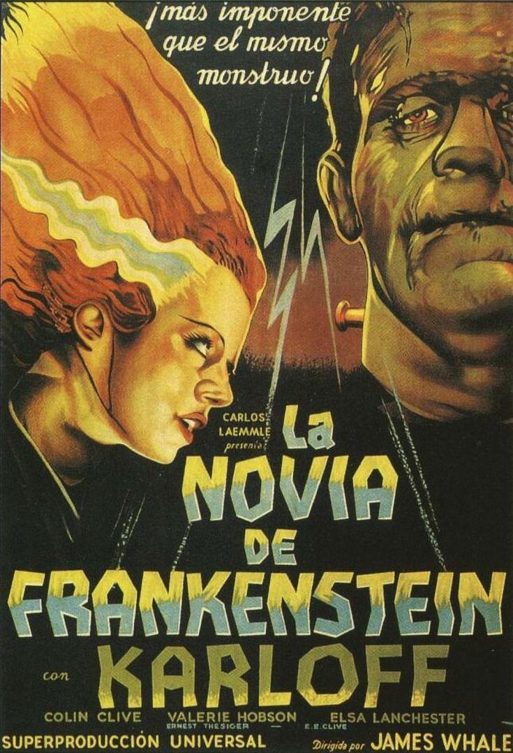 1935 The bride of Frankenstein - La novia de Frankenstein