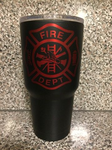 Powder Coated Yeti Tumbler No Stickers All By